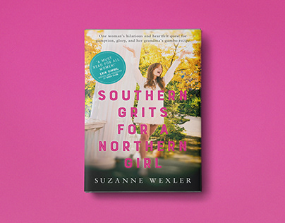Book Cover Design / Southern Grits For A Northern Girl