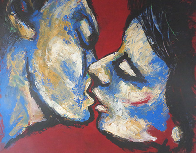 Lovers - Paintings and Drawings