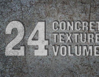 24 Concrete Textures Vol. 1
