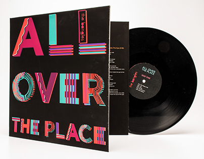 Album redesign:  All over the place