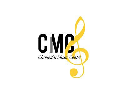 CMC Music Center Branding
