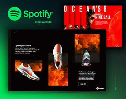 Spotify Official Event Website