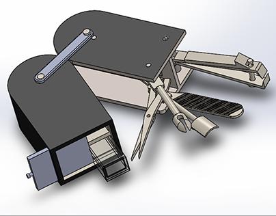 Swiss army knife multi nail care tool box