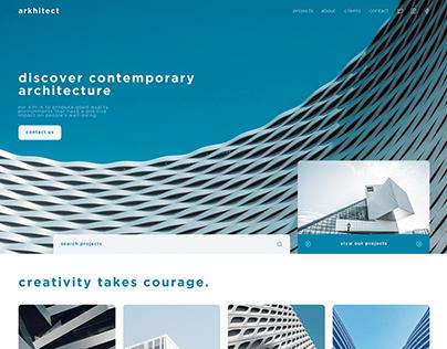 ARKHITECT Web Concept