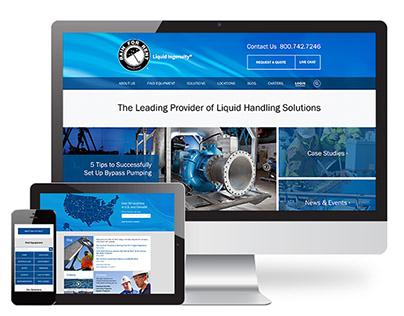 Rain for Rent - Website Design and Development