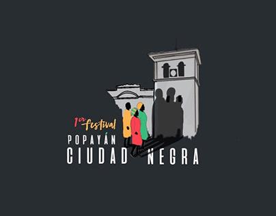 Logo - Festival Popayán Ciudad Negra