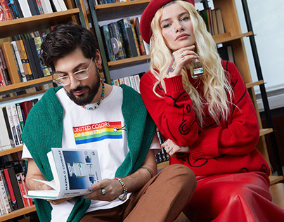 For UNITED COLORS OF BENETTON. (x Russian bloggers)