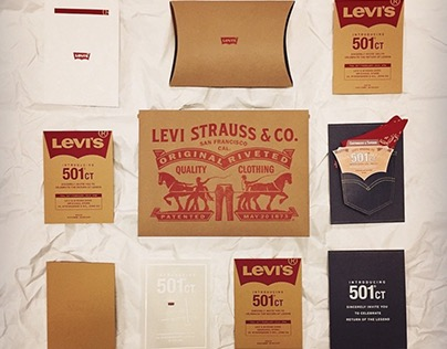 Levi's 501CT Launching event Invitation