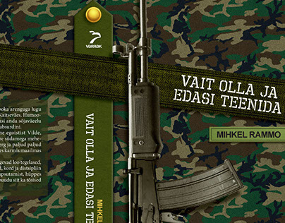 Book Cover Design: Military Novel