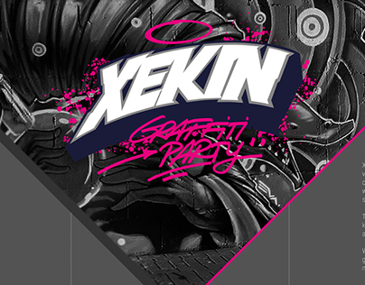 XEKIN Graffiti Party / Commissioned work