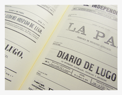 Book about the press in Lugo