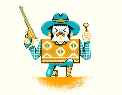 Cowboy Illustrations