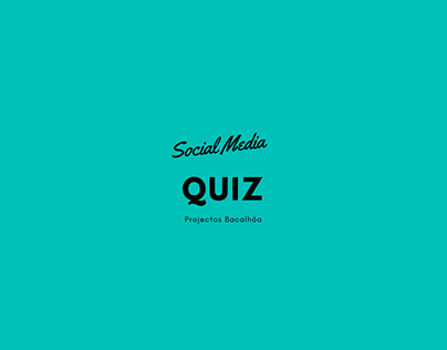 Social Media - Quiz Ideas