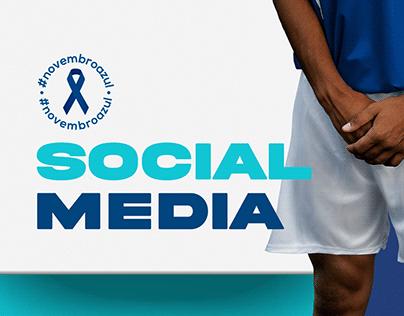 Novembro Azul - AmorSaúde - Social Media