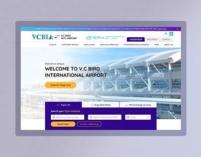 UX/UI Design - Antigua Airport Website