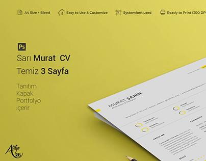 Profesyonel CV Tasarımı