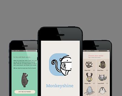 Monkeyshine | An educational game app for children