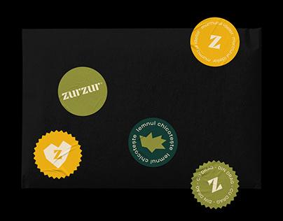 Zurzur® Brand Identity