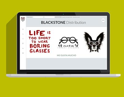 Sites WordPress Blackstone Distribution