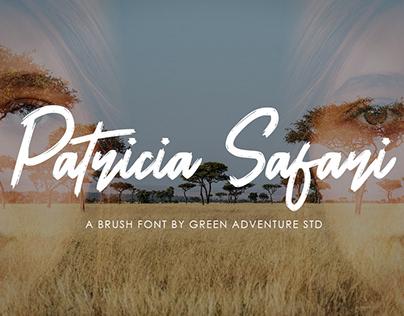 Patricia Safari - A Brush Font Script