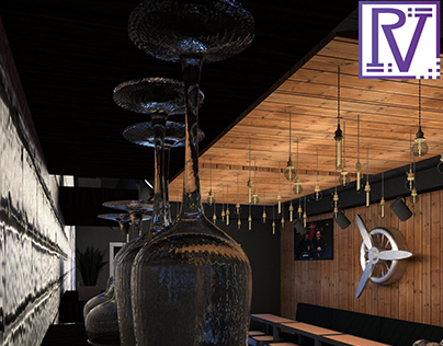 Interior Project - The Burger Station, Viale Rossini,CS