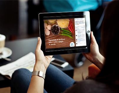 Redes Sociais Portal Restaurante