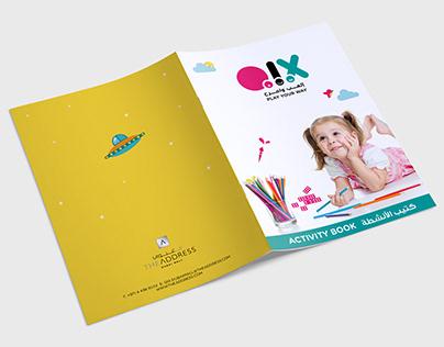 Kids Activity Book Design | Qix, Emaar