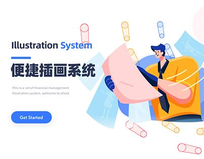 illustration system