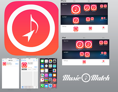 Music Match (IOS Icon)