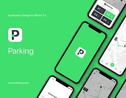 Parking Application Design UX/UI