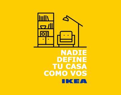 Ikea | Nadie define tu casa como vos