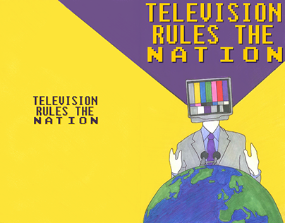 Cover: Television Rules The Nation - Comic / Quadrinho