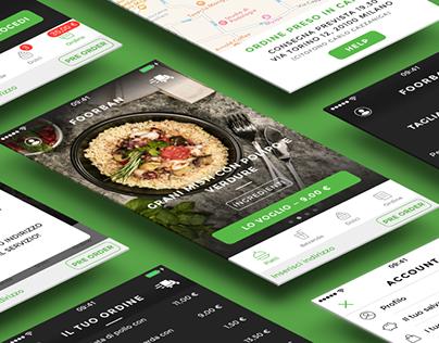 Foorban - mobile app