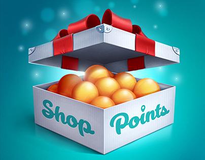 Shop Points IOS icon
