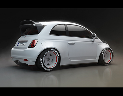 Automotive CGI: Fiat 500