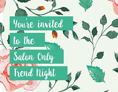 Salon Only Invite
