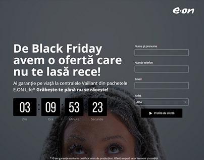 Black Friday - Landing Page