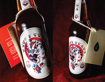 GYPSY TEARS | Craft Beer Packaging Re-Design