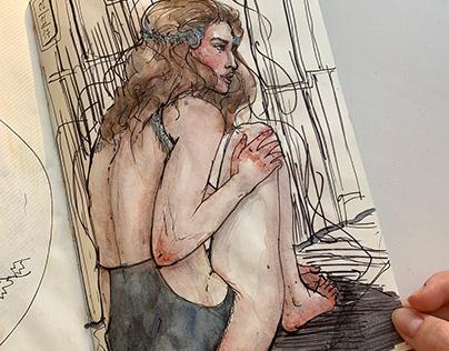 Sketchbook pieces