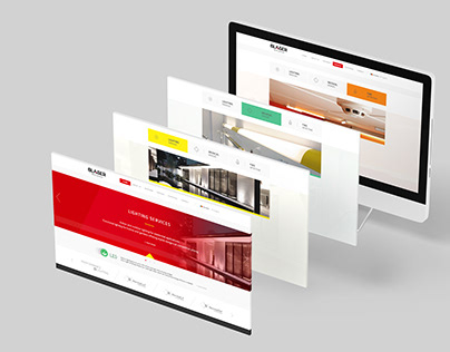 BLASER - website UI/UX design