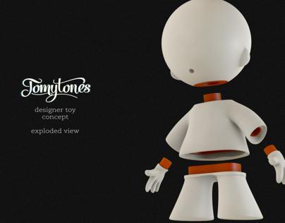 TomyTones Designer Toy Concept
