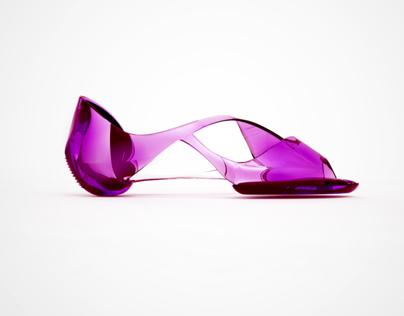 Driving shoe for career women.