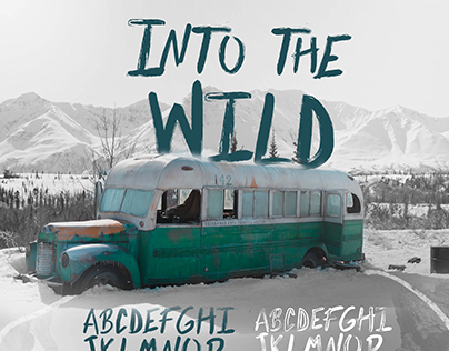 Into The Wild / Brush Font