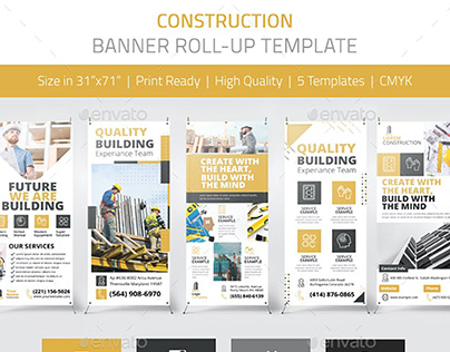 Construction Banner Pack