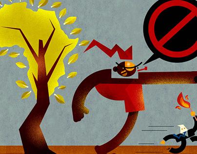 Ilustração premiada no FESTIVAL INTERNACIONAL DE LITER