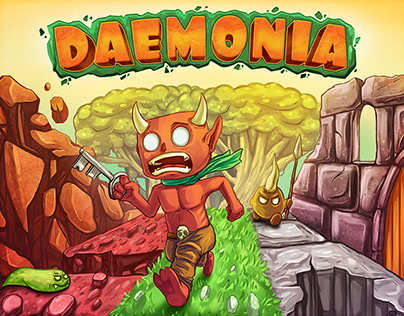 Daemonia - Mobile game art and 2d animation