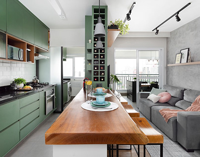 Apartment by CADDA Arquitetura
