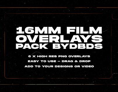 16mm Film Overlay Pack — byDBDS®