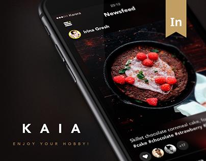 Kaia. Social Application