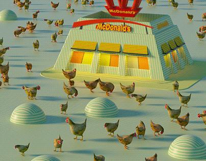 McDonald's chicken during Lockdown
